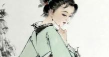 陈德浓(陈寅)仕女画彰显古典美女之美