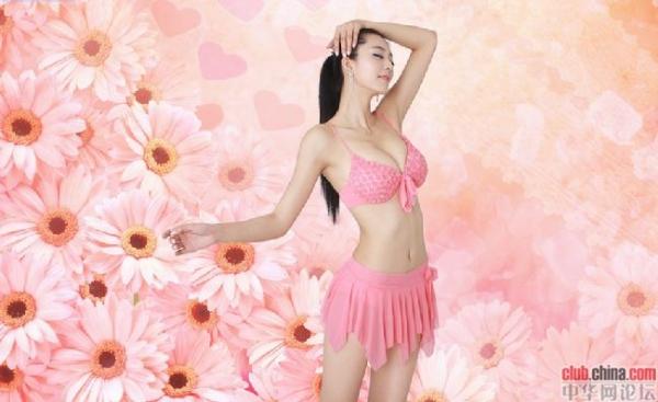 中国第一黄金比例美女最新私照曝光