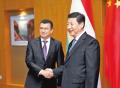 习近平会见塔吉克斯坦政府总理