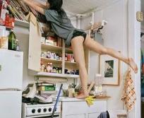 日本女留学生混乱的私生活