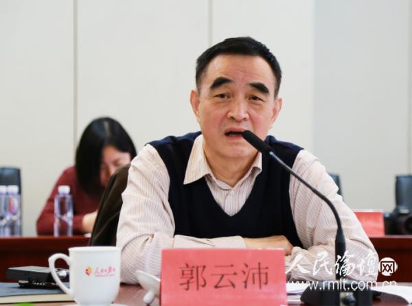 全国医药行业协会会长郭云沛