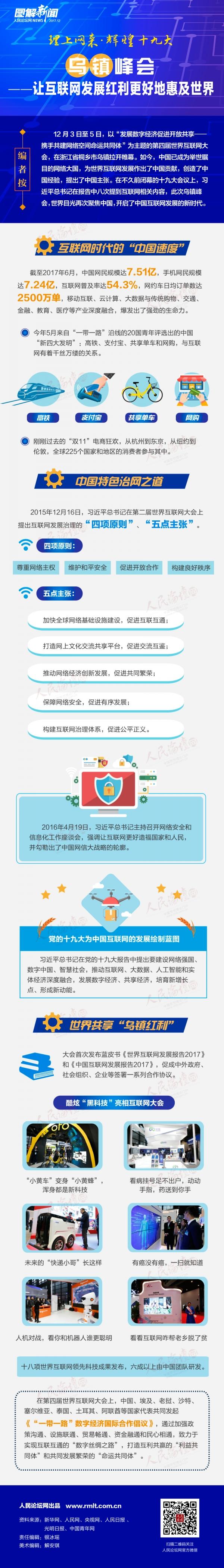 图解:乌镇峰会――让互联网发展红利更好地惠及世界