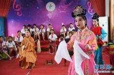 江西:传承采茶戏曲文化 丰富校园生活