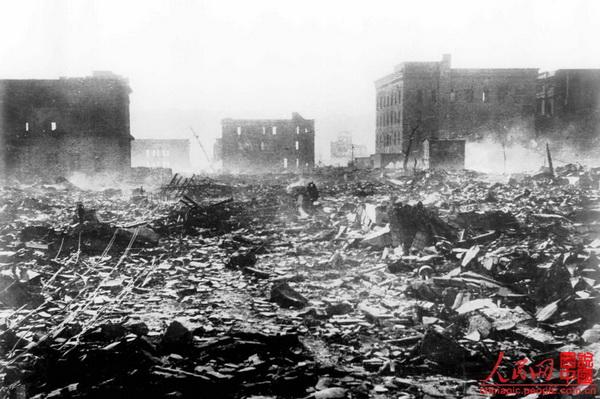 日本广岛,长崎原子弹爆炸65周年