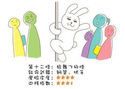 地铁十八怪漫画曝光
